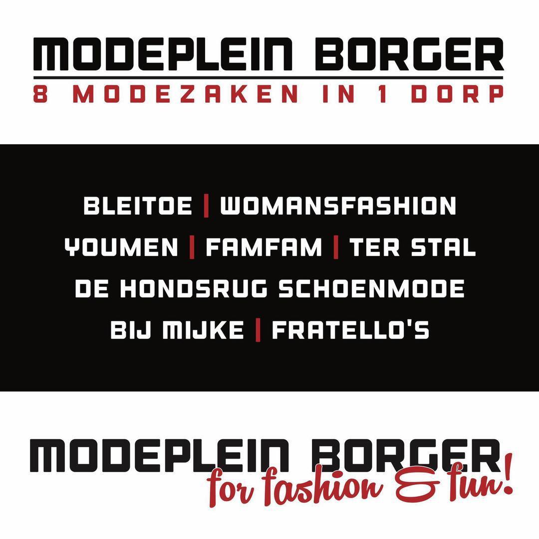 Modeplein Borger